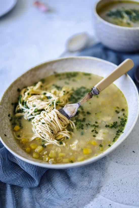 Chicken Corn Noodle Soup
