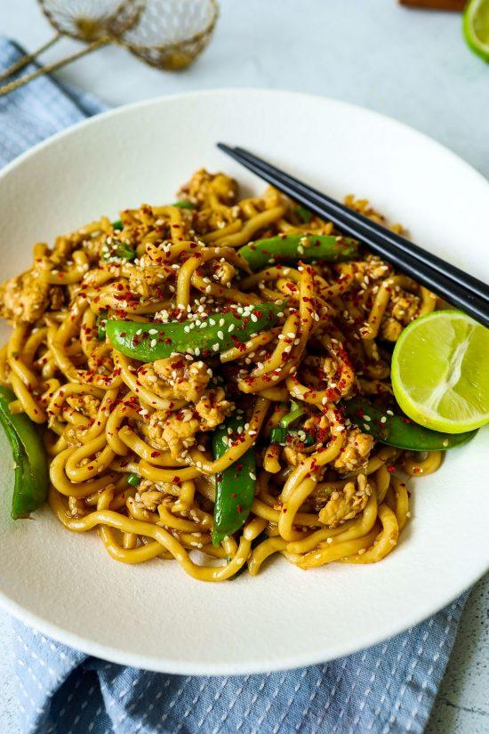 Sesame Chicken Noodles
